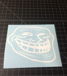 Troll Face Sticker
