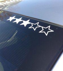 GTA 3 Star Sticker