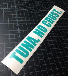 tuna no crust turquoise