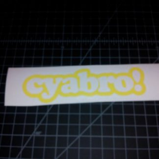 cyabro sticker