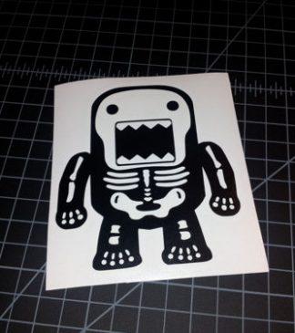 Domo Skeleton Sticker