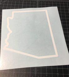 arizona outline