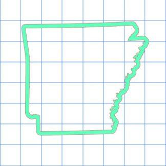 Arkansas Outline Sticker