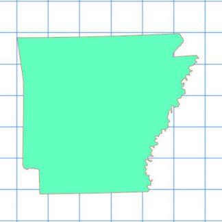 Arkansas Solid Sticker