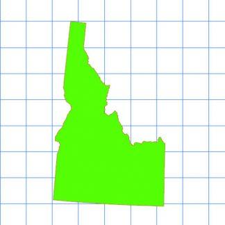 Idaho Solid Sticker