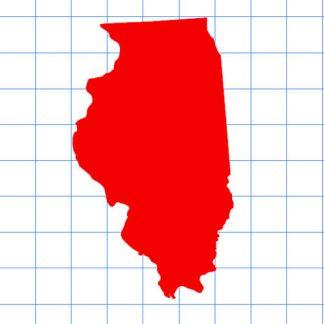 Illinois Solid Sticker
