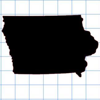 Iowa Solid Sticker