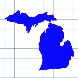 Michigan Solid Sticker