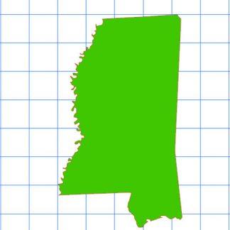Mississippi Solid Sticker