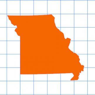 Missouri Solid Sticker