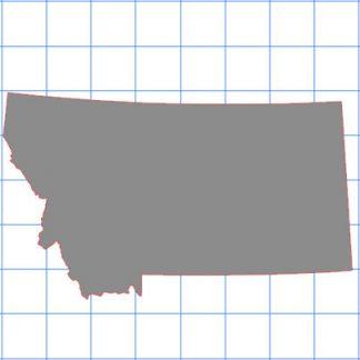 Montana Solid Sticker