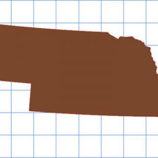 Nebraska Solid Sticker