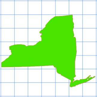 Newyork Solid Sticker