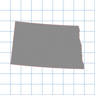 North Dakota Solid Sticker