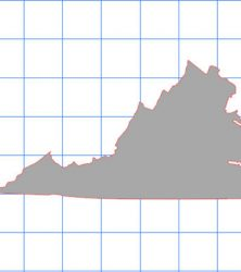 Virginia Solid Sticker