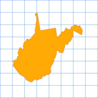 West Virginia Solid Sticker