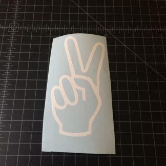 Peace Hand Sticker