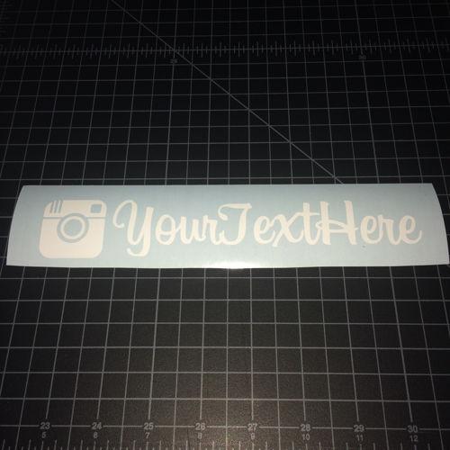 Custom Instagram Sticker