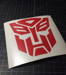 autobot red