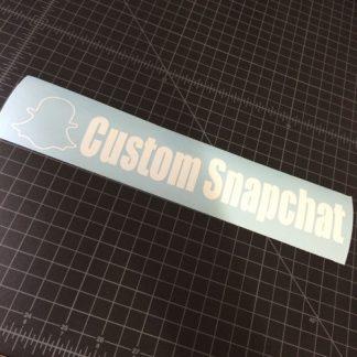Custom Snapchat Sticker