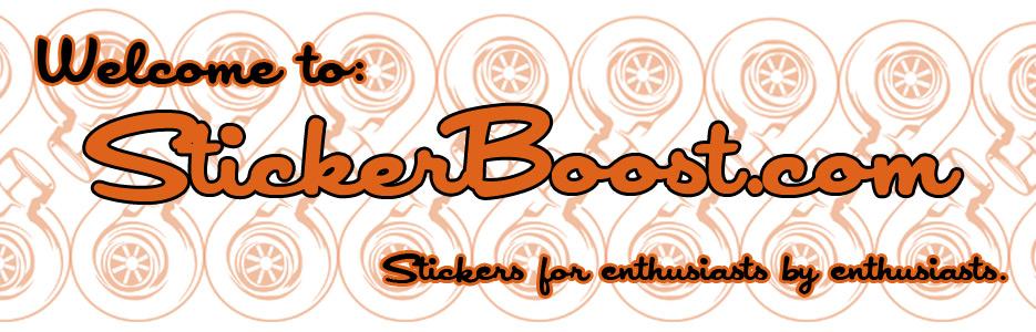 Sticker Boost Banner