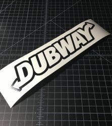 dubway outline black