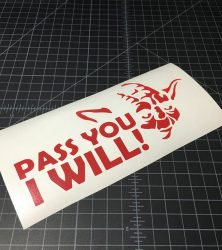 pass you i will red