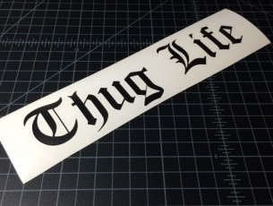 thug life black