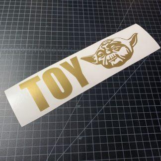 Toy Yoda Sticker