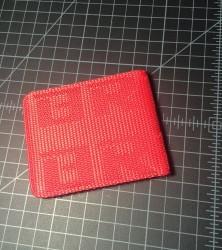 bride wallet red