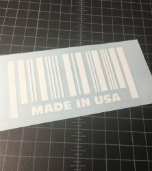 made in usa white