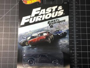 08 Dodge Challenger SRT8 Fast and Furious 2016 Hot Wheels