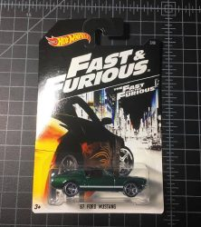 67 Ford Mustang Fast and Furious 2016 Hot Wheels