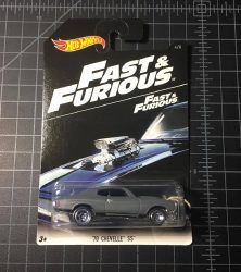 70 Chevelle SS Fast and Furious 2016 Hot Wheels