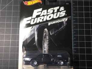 70 Dodge Charger RT Fast and Furious 2016 Hot Wheels