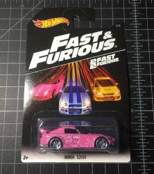 Honda S2000 Fast and Furious 2016 Hot Wheels